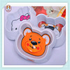 Cartoon cute plastic pet food bowl melamine dog bowl