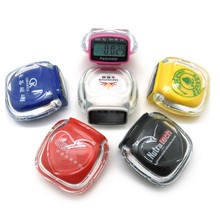 Transparent acrylic multifunctional pedometer , step counter