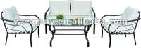 outdoor furniture/metal