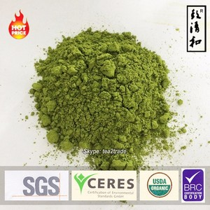 USDA and EU organic certified japanese matcha tea