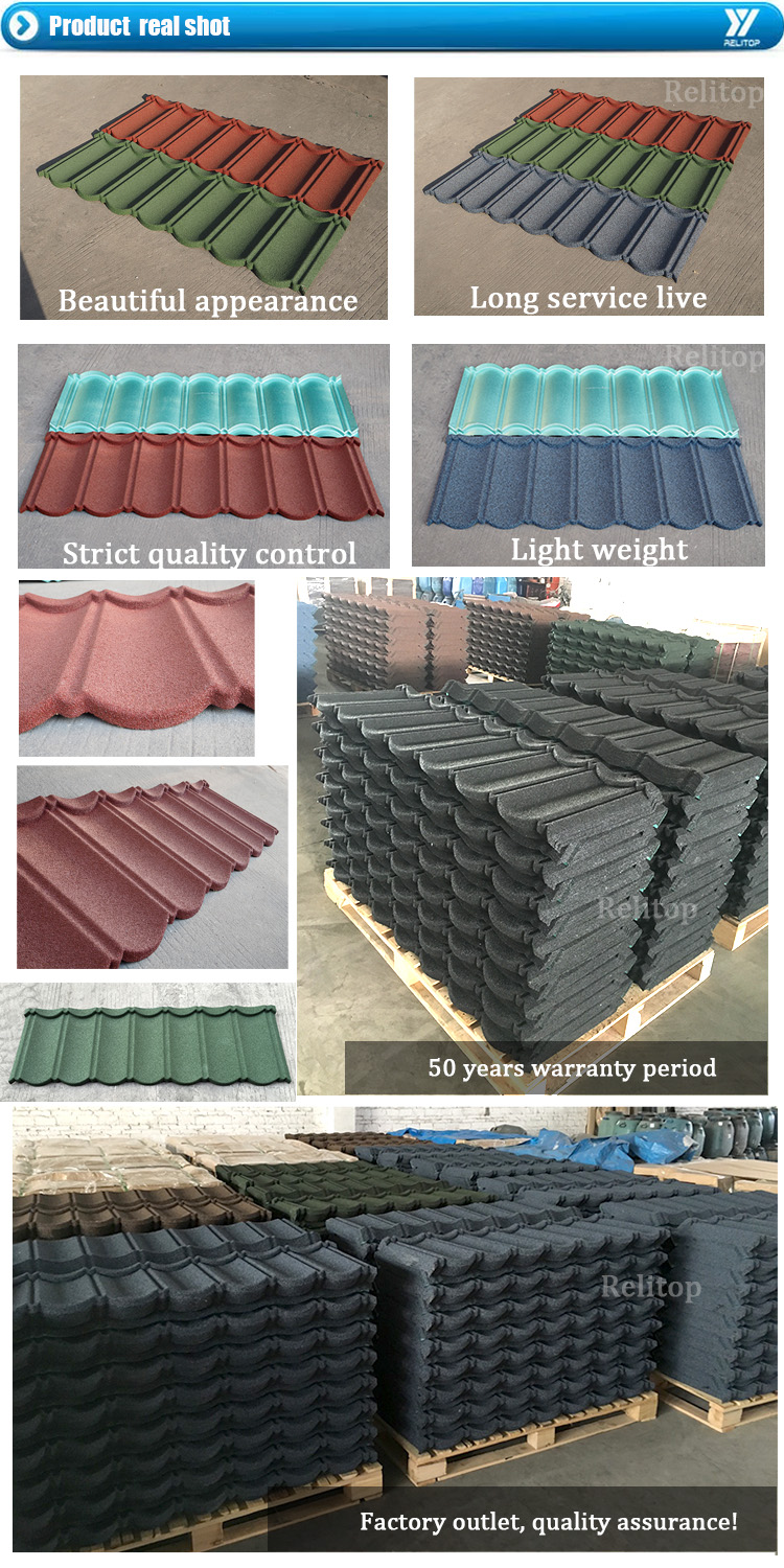 Relitop Modern Lightweight Construction Materials Colorful Stone