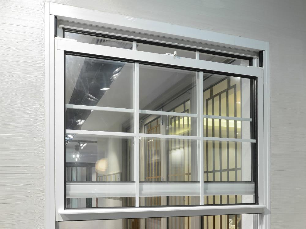 Alluminio singola finestra appesa doppi vetri in - Prezzo finestra alluminio ...