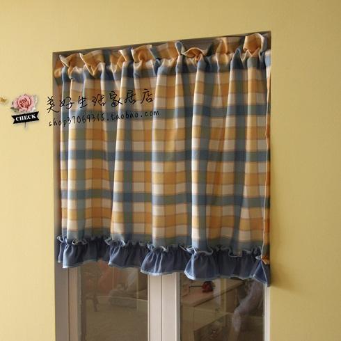 Popular Yellow Ruffle Curtains-Buy Cheap Yellow Ruffle ...