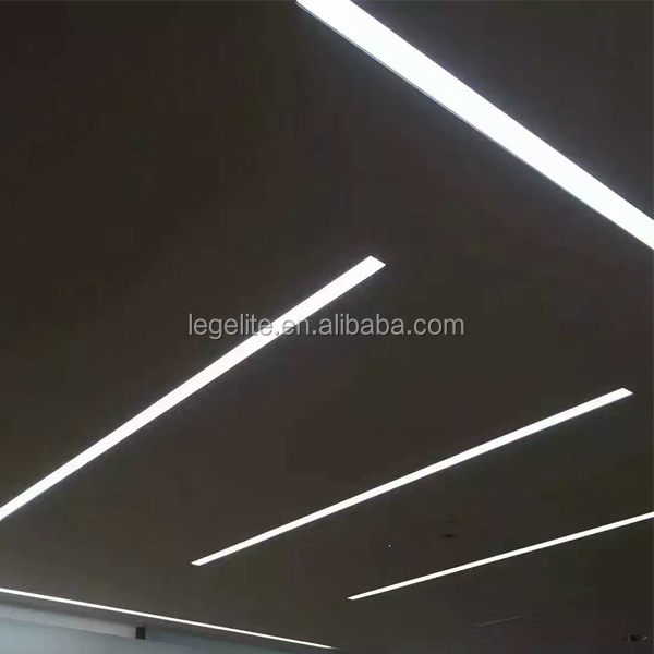 2.4m 8ft Pendant Suspend Recessed Dimming LED Linear Light 8foot