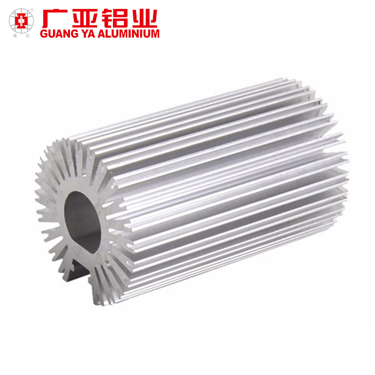 Hot Sale Extrusion 6063 T5 T6 Aluminium Heat Sink Profiles