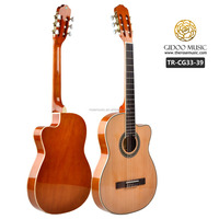 cheap prices thin body & cutaway classical guitar for sale OEM guitar