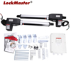 LOCKMASTER LM902 Electric Gate Opener Double Arms for Gate 300 KGS