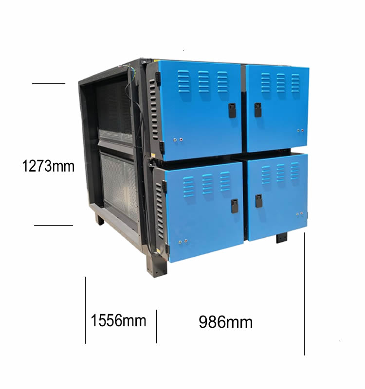 32000 m3/h big air volume esp oil mist smoke purification electrostatic precipitator