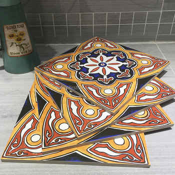 Customized hand painted ceramic tiles for sale