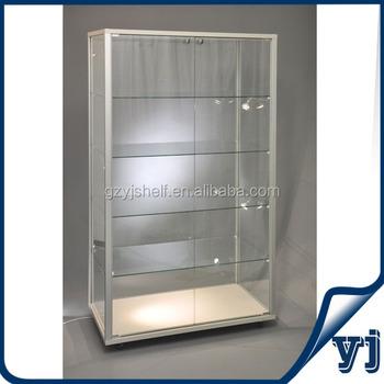 Vitrinekast Voor Winkel.Custom Winkel Vrijstaande Afsluitbare Vitrinekast Vitrinekast Buy Vitrinekast Goedkope Glazen Vitrines Aluminium En Glas Vitrines Product On