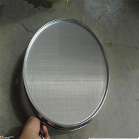 Custom different shape of 10 micron-300 micron stainless steel sieve