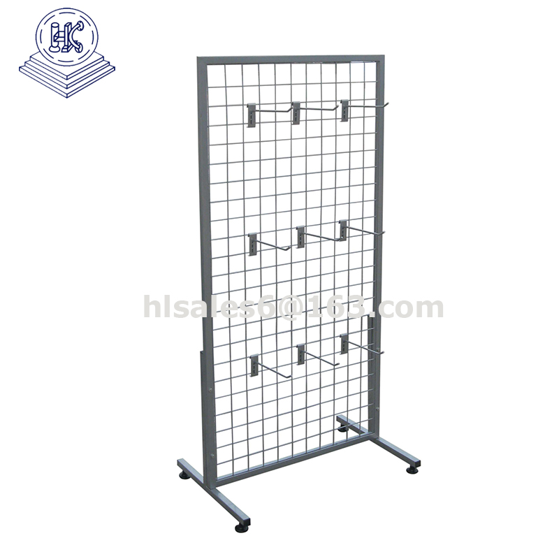 Metal Wire Decorative Display Metal Mesh Panel Stand - Buy Wire Mesh ...