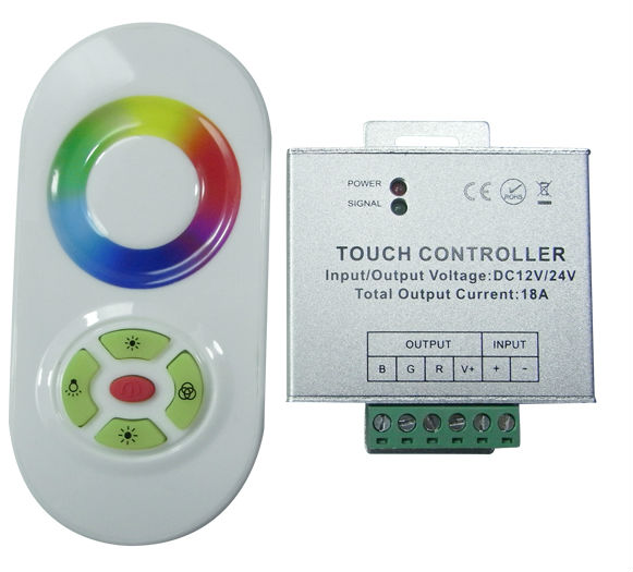 LED RGB strip FR touched controller with CE&RoHS