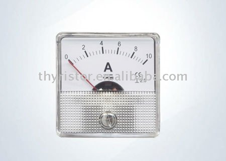 Ac Analog Ammeter And Voltmeter