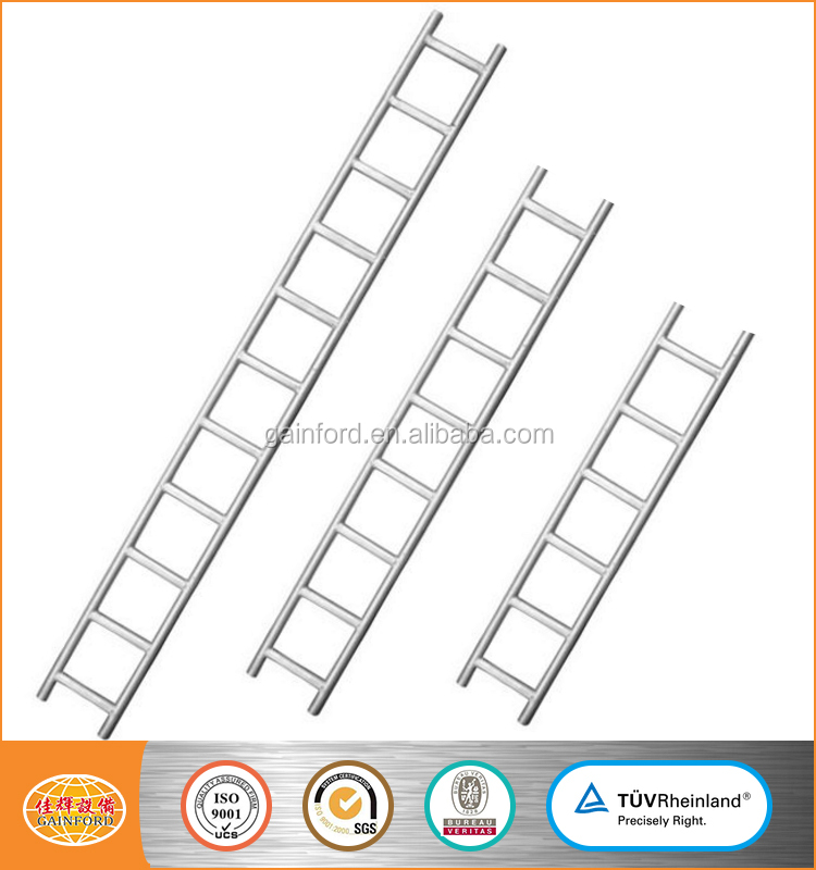 BS1139 EN39 Hot Dipped Galvanized Steel Scaffolding Ladder Beam