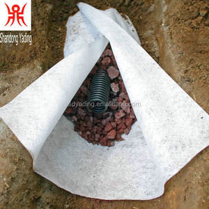 5.8m width size non woven geotextile 300g m2