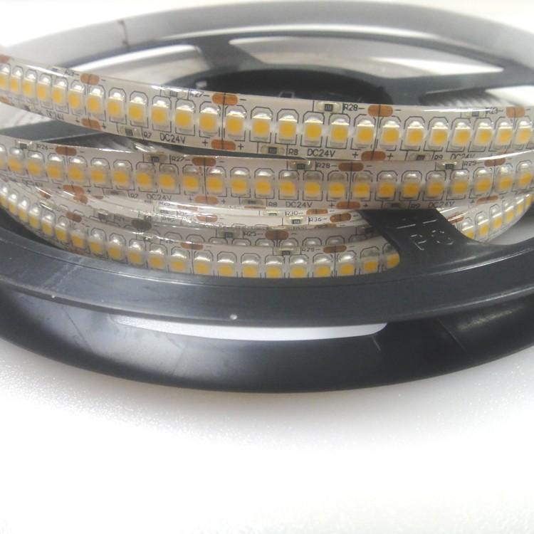 Signle line 3528SMD DC24V Waterproof LED Decoration Strip Light/Lamp For Display Shelf Lighting
