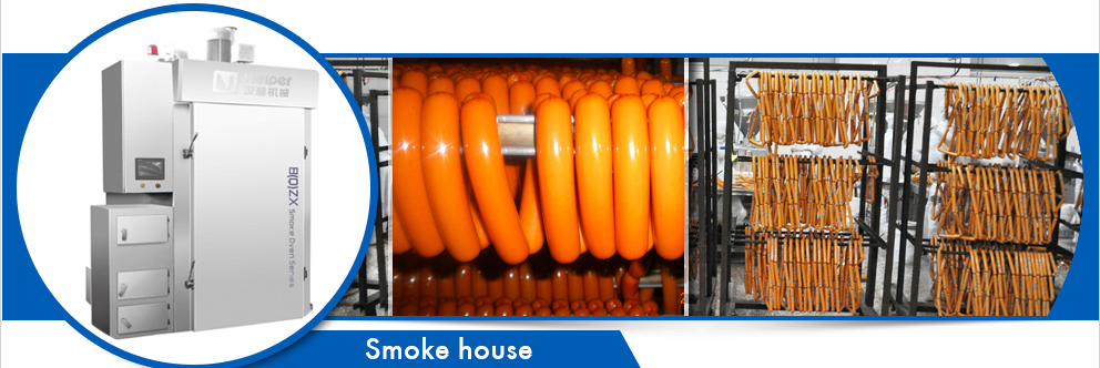 1000kg meat smokehouse equipment machine for sale