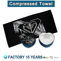 [ Free sample] natural cotton velour reactive printed compress beach towel