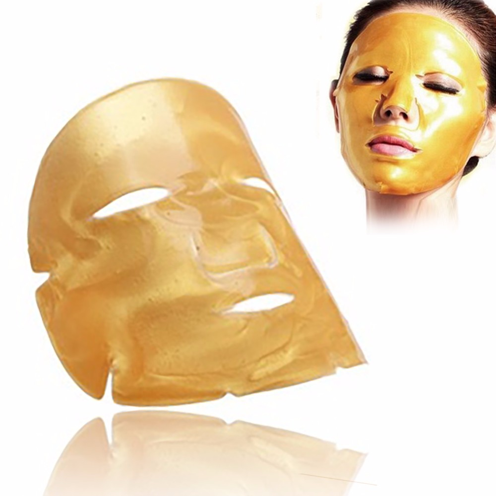 Private label kollagen reinem gold gesichts masken großhandel anti aging 24 karat gold maske