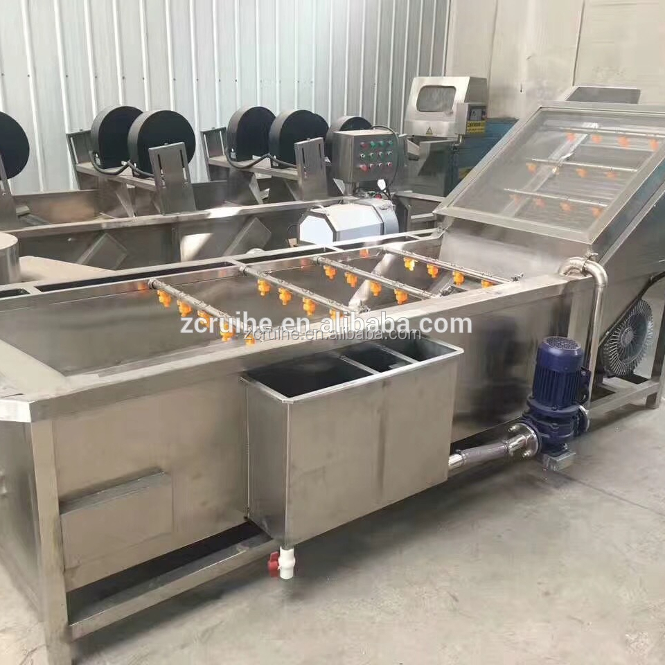 304 Stainless Steel Material and Root Vegetable Application fruit and vegetable washing equipment