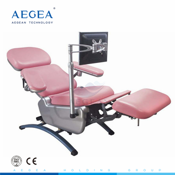 AG-XD104 approved professional hospital electric blood collection chair