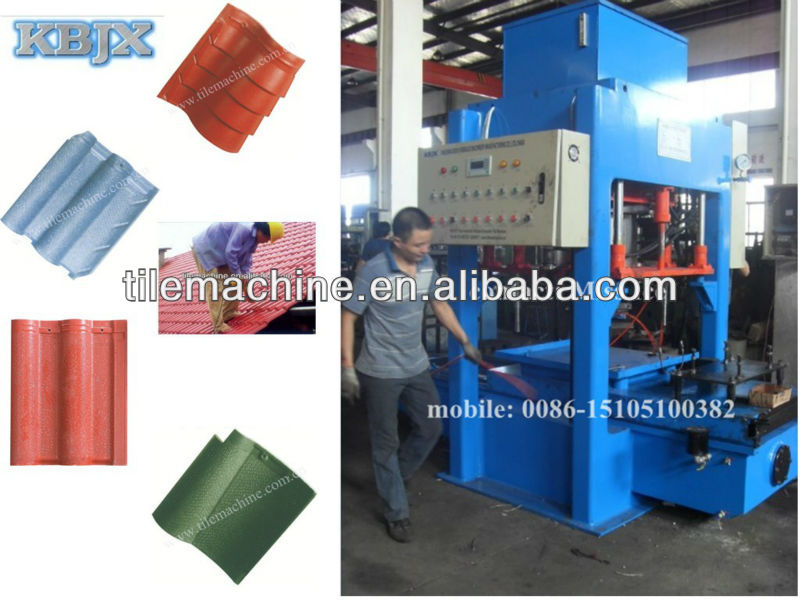 KB-125C low price cement roof tile making machine