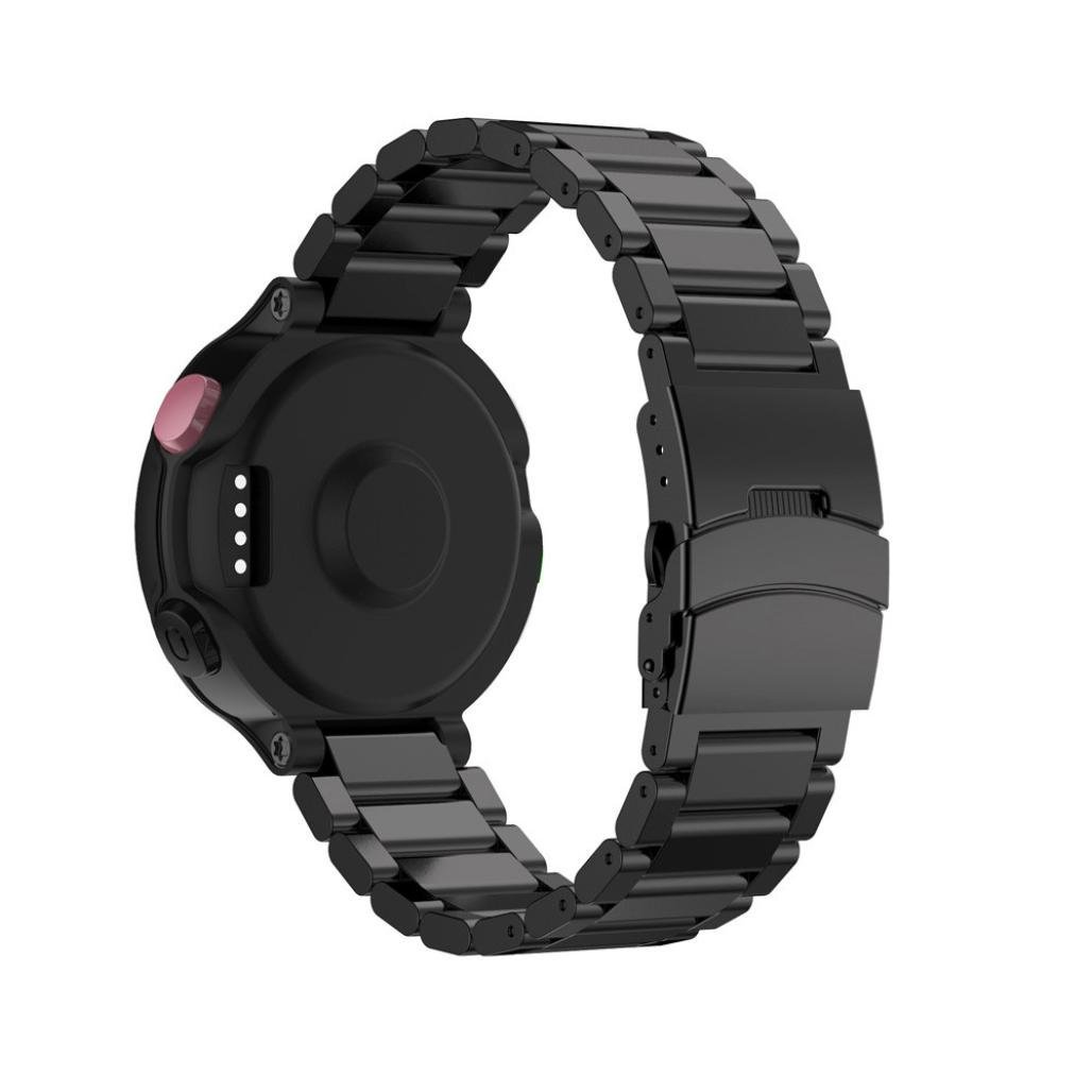 For Garmin Forerunner 220 230 235 630 620 735, Oksale® Metal Stainless Steel Smart Watch Replacement Adjustable Bracelet Strap Band