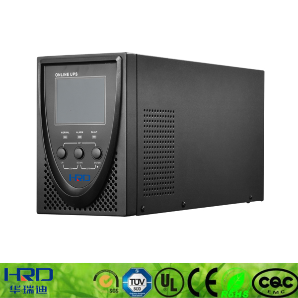 Online double conversion online ups 2kva 120v power supply ups