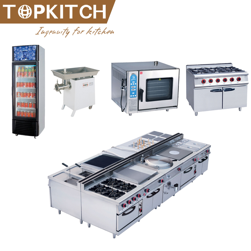 Commercial Kitchen Using CE Approved Heavy Duty Stainless Steel High Quality Kitchen Platform Design