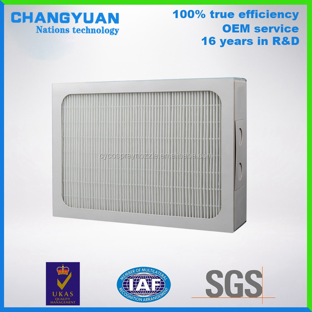 Compatiable to all air purifier hepa filters, indoor air cleaning device