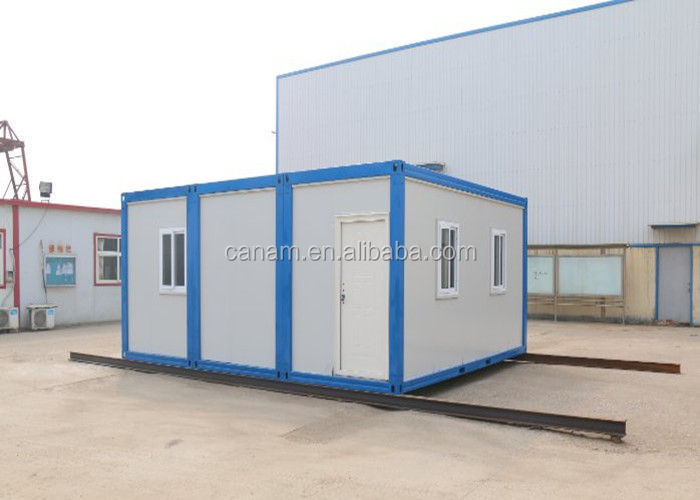 Modiified Shipping Containers Galvanized Steel Frame House For Office OEM with Waterproof Fireproof System