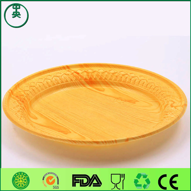 disposable plastic round sushi tray popular sashimi container