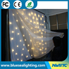 RGB star twinkling wedding decoration backdrop cloth led curtain