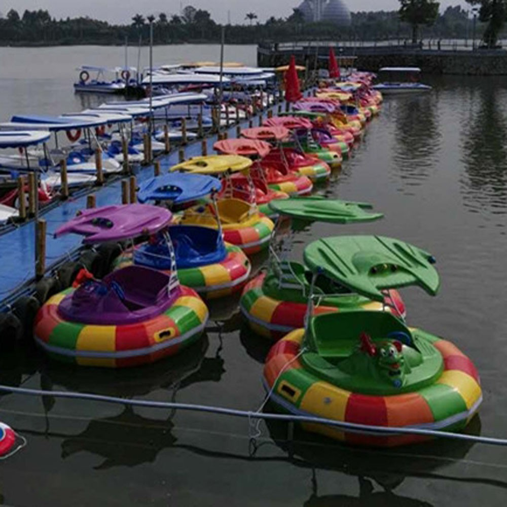 Inflatable Outer Ring Kid's Boat Bumper Boats For Hot Selling