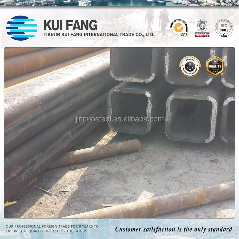 Top product carbon pipes black steel pipe for tower crane