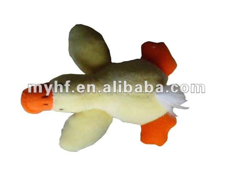 2012 good mini magnet duck plush stuffed Toys