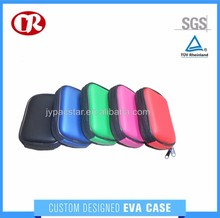 Custom colorful PU surface zipper closure easy carrying eva camera bag