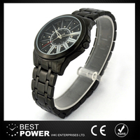 OEM stainless steel case quartz watch price