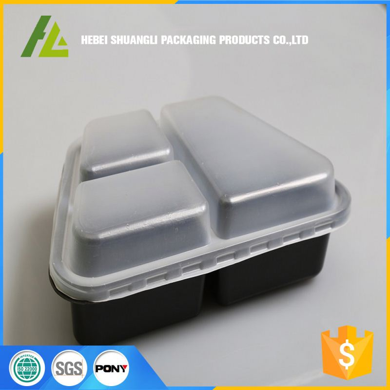 environmentally-friendly modern multiple compartment food container and storage