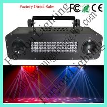 Cheap newly design 120*f5mm rgb+72*f10mm white leds club night show stage light color strobe effect scanner