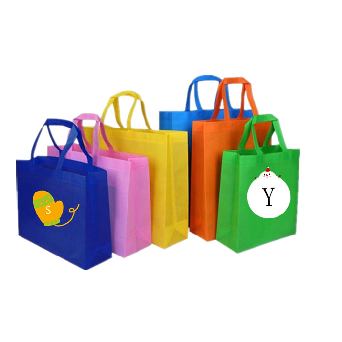 Non-tessuto economia tote bag eco-friendly shopping bag