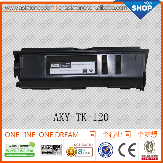 Compatible Toner Cartridge TK-120/121/122/123/124 From Chinese Manufacturer