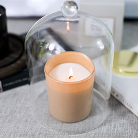 Candle making soy wax wood candle baby candle