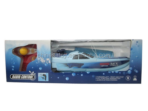 Lightweight Monohull Bait Boat for Fishing Tackle 3 Channel R/C boat with Charger