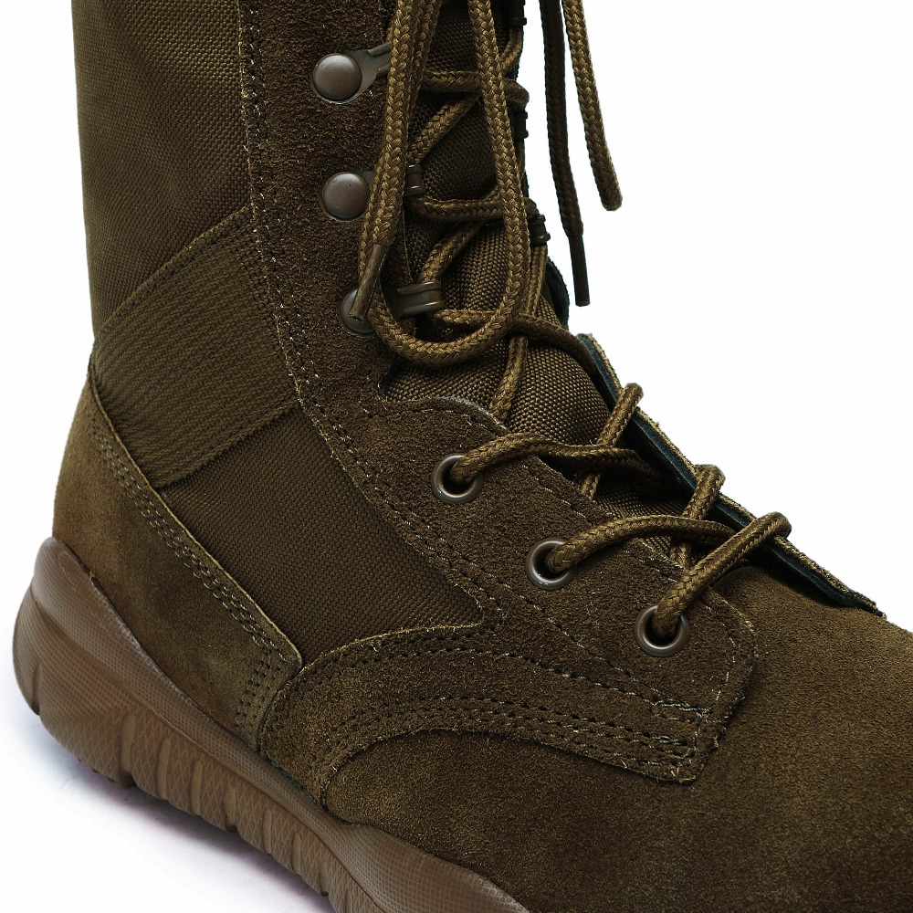Light Weight Work Boots Suppliers And Cut Engineer Shoes Safety Iron Suede Leather Soft Brown Manufacturers At