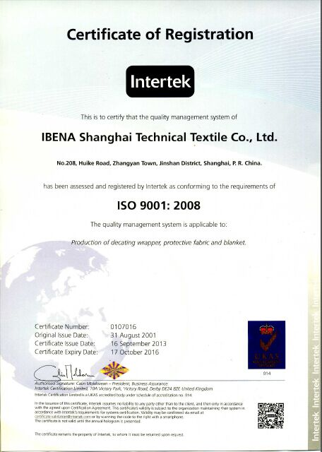 anti-heat and anti-splash fabric / aluminum coated Nomex fabric