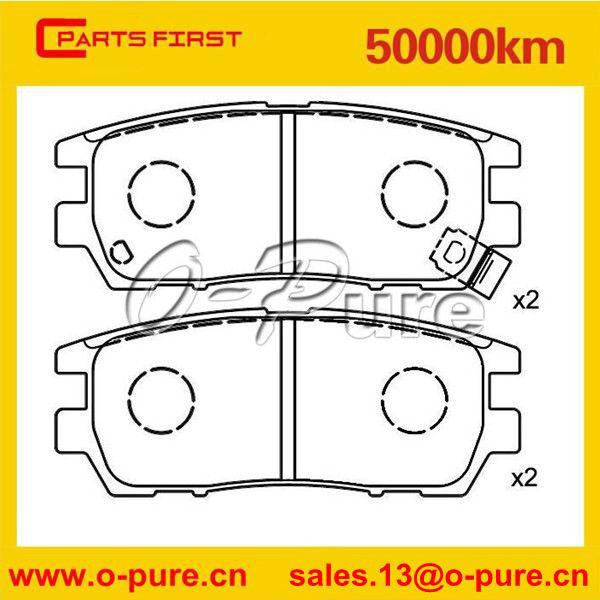 O-pure Mb 389 572 Car Spare Parts Brake Pad For Mitsubishi L 400 ...