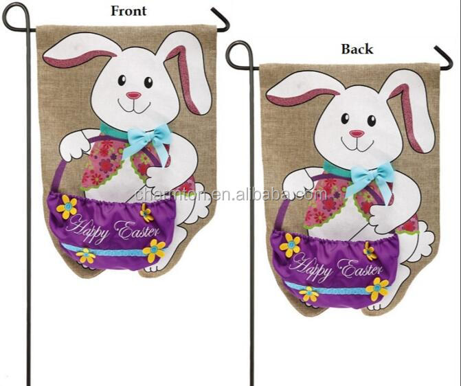 Easter Bunny Garden Flag Easter Bunny Garden Flag Suppliers and