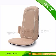 BLH Logo Branded Infrared Vibrating Kneading Rolling Shiatsu Body Massage Cushion For Car Seat